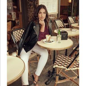 🌷Mango Violeta slim white jeans tall
